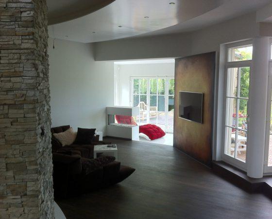 Innenraumgestaltung: Umgestaltung der Wände, Decken und Fußböden