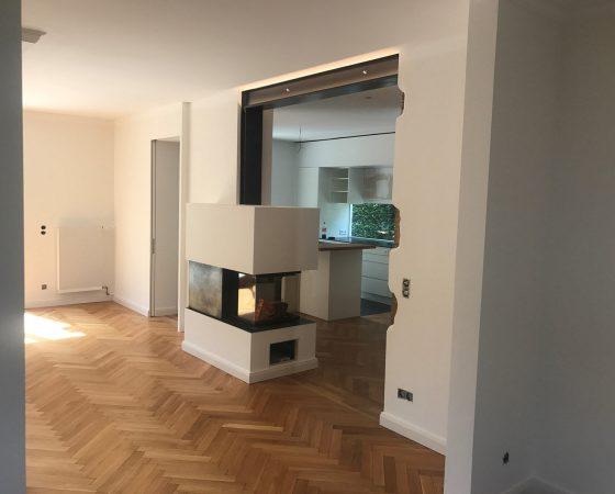 Innenraumgestaltung: Wandgestaltung – Highlight Ofenverkleidung
