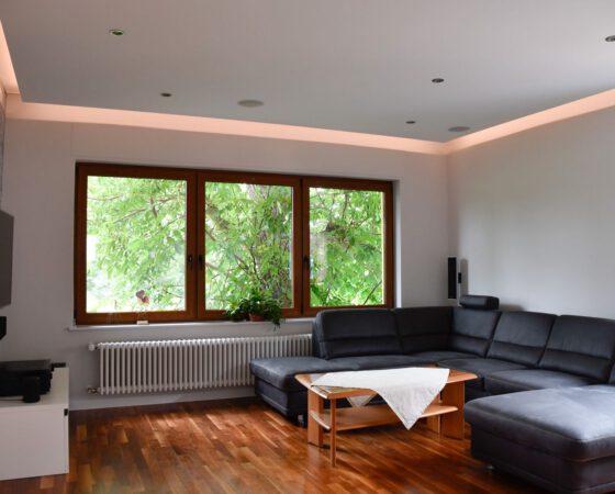 Neugestaltung Wohn- und Esszimmer abgeschlossen